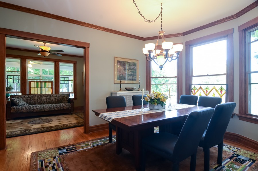 Real Estate Photography - 2201 W Estes, Chicago, IL, 60645 - Living Room / Dining Room