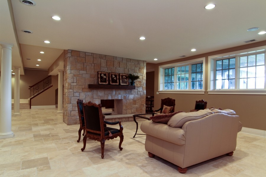 Real Estate Photography - 43 Royal Vale Drive, Oak Brook, IL, 60523 - Lower Level