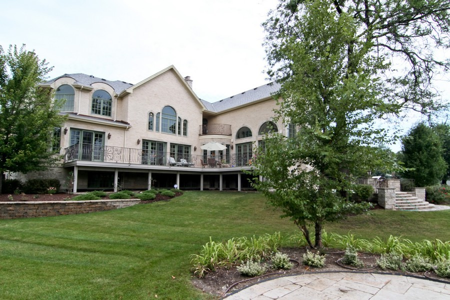Real Estate Photography - 43 Royal Vale Drive, Oak Brook, IL, 60523 - Rear View