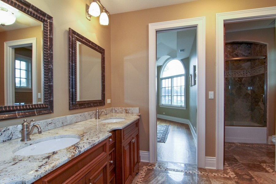 Real Estate Photography - 43 Royal Vale Drive, Oak Brook, IL, 60523 - Bathroom