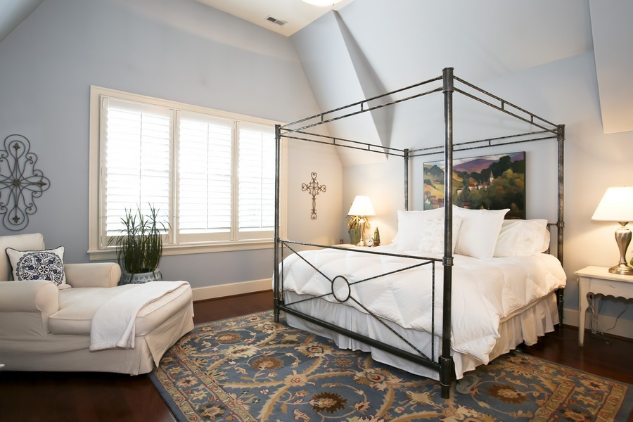 Real Estate Photography - 37 Chestnut, Clarendon Hills, IL, 60514 - Master Bedroom