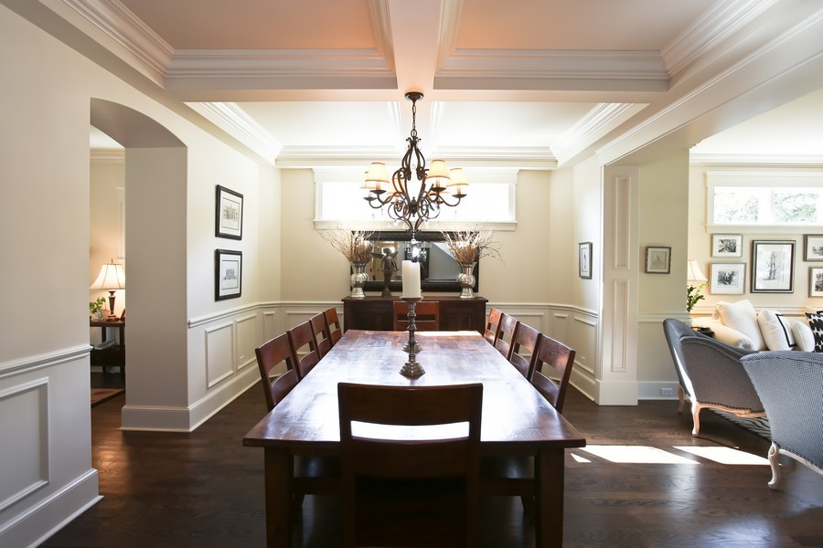 Real Estate Photography - 37 Chestnut, Clarendon Hills, IL, 60514 - Dining Room