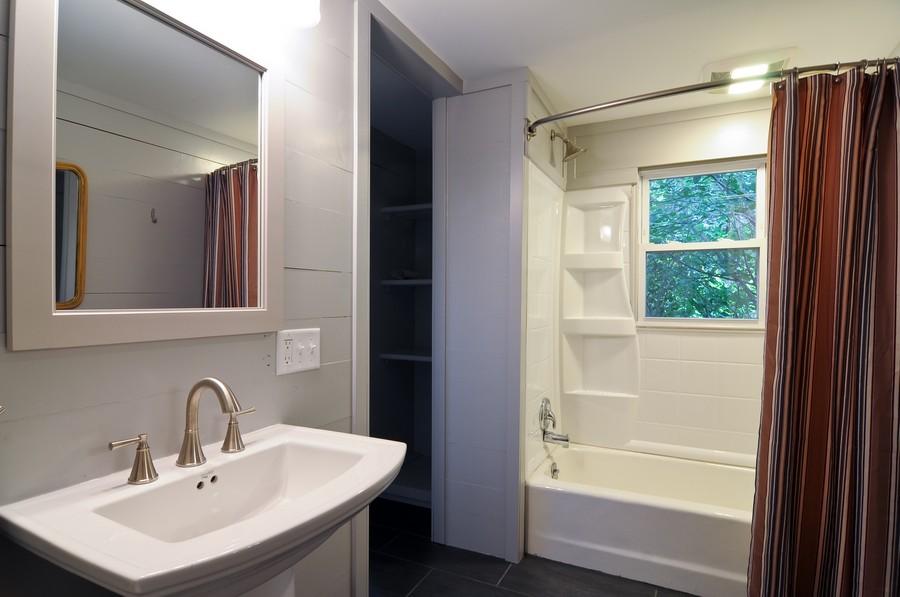 Real Estate Photography - 232 Park, Grayslake, IL, 60030 - Master Bathroom