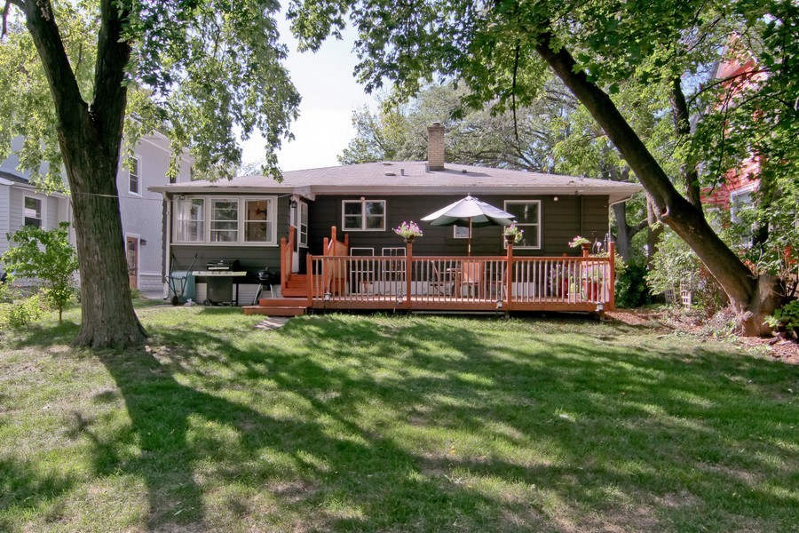 Real Estate Photography - 4713 Main St, Downers Grove, IL, 60515 - Rear View
