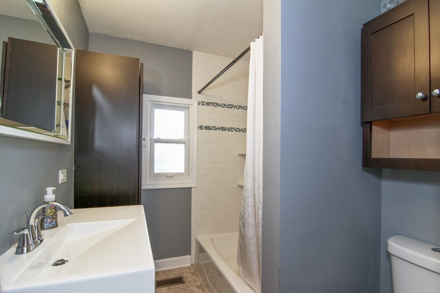 Real Estate Photography - 4713 Main St, Downers Grove, IL, 60515 - Bathroom