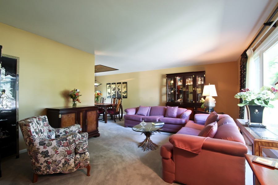 Real Estate Photography - 873 Willow Lane, Willowbrook, IL, 60527 - Living Room