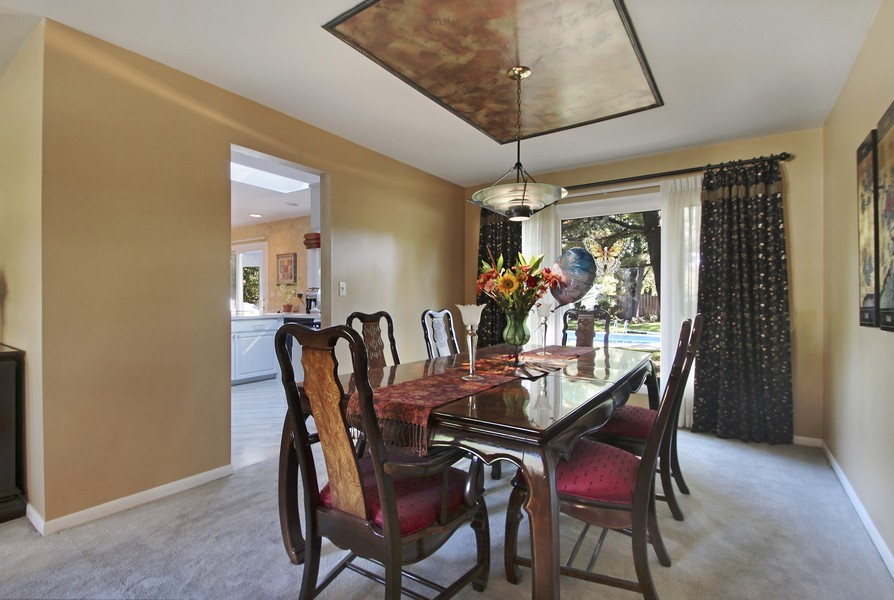 Real Estate Photography - 873 Willow Lane, Willowbrook, IL, 60527 - Dining Room