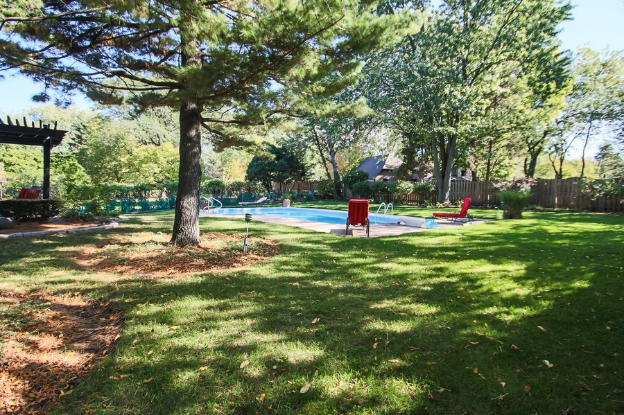 Real Estate Photography - 873 Willow Lane, Willowbrook, IL, 60527 - Back Yard