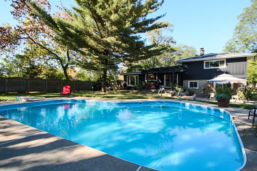 Real Estate Photography - 873 Willow Lane, Willowbrook, IL, 60527 - Pool