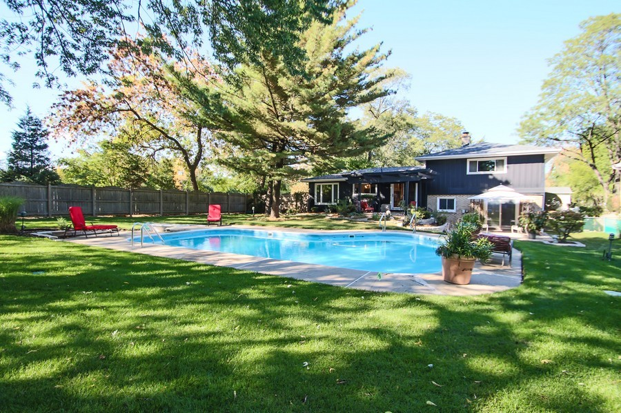 Real Estate Photography - 873 Willow Lane, Willowbrook, IL, 60527 - Pool/Spa