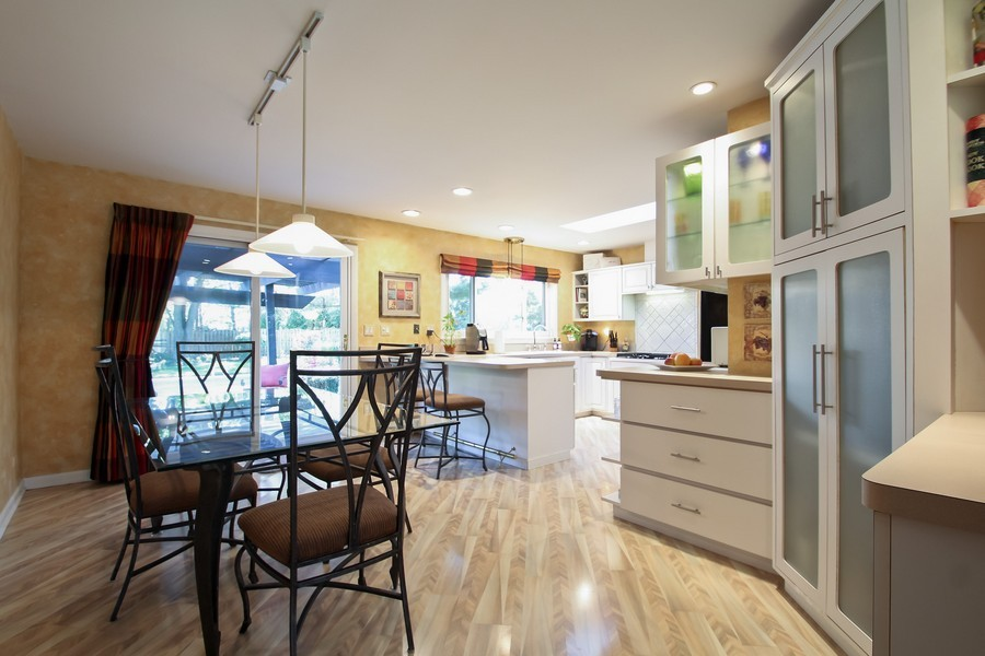 Real Estate Photography - 873 Willow Lane, Willowbrook, IL, 60527 - Dining Area