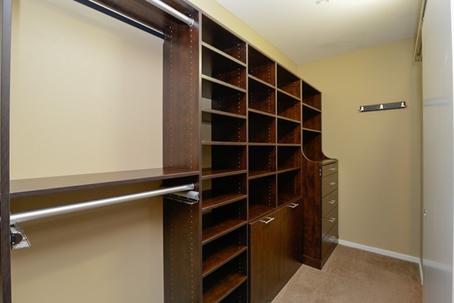 Real Estate Photography - 500 W Superior, Unit 1911, Chicago, IL, 60654 - Closet