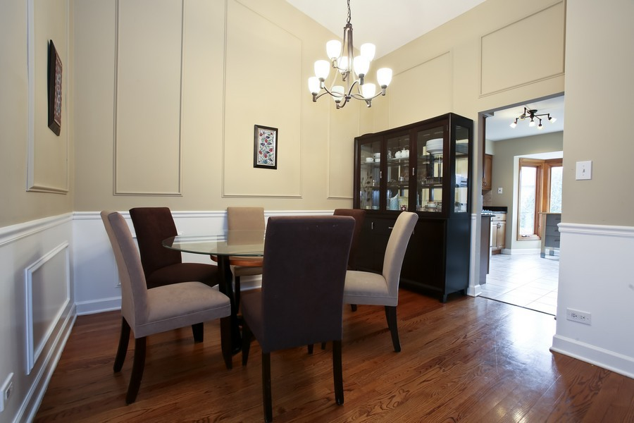 Real Estate Photography - 19W233 Old Tavern Road, 233, Oak Brook, IL, 60523 - Dining Room