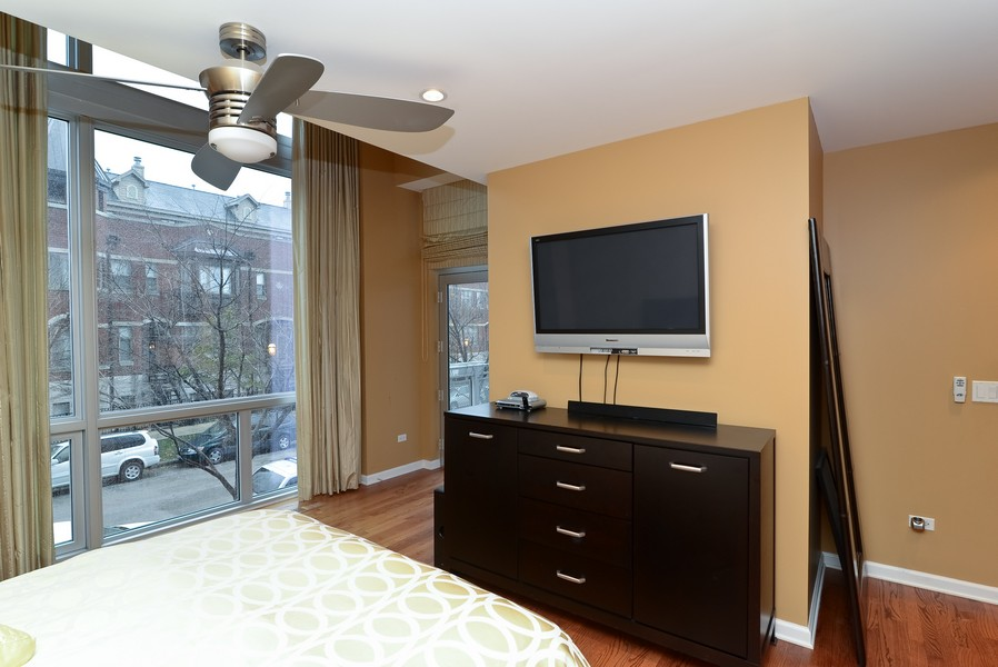 Real Estate Photography - 1841 S Calumet, # 4, Chicago, IL, 60616 - Master Bedroom