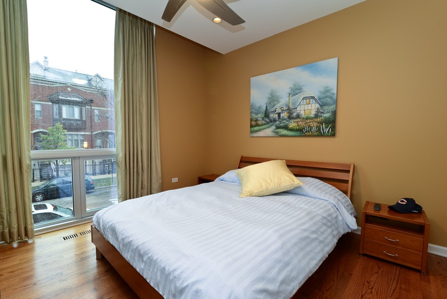 Real Estate Photography - 1841 S Calumet, # 4, Chicago, IL, 60616 - Bedroom