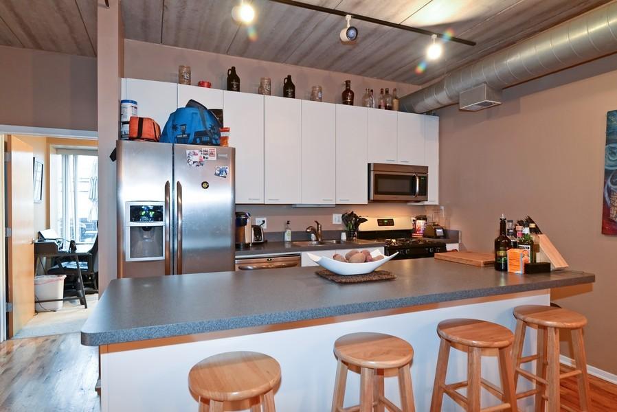 Real Estate Photography - 1440 S Michigan, Unit 212, Chicago, IL, 60605 - Kitchen