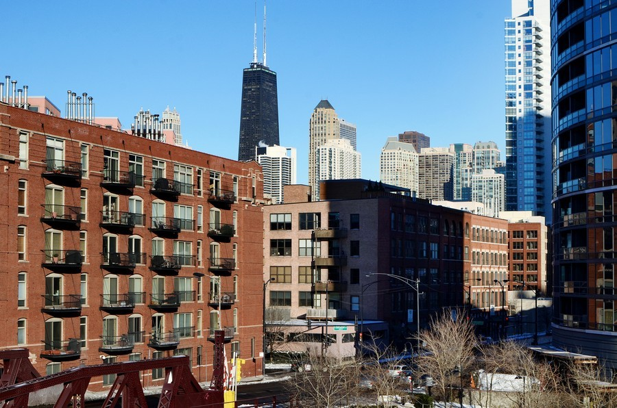 Real Estate Photography - 493 N Canal, Chicago, IL, 60654 - View
