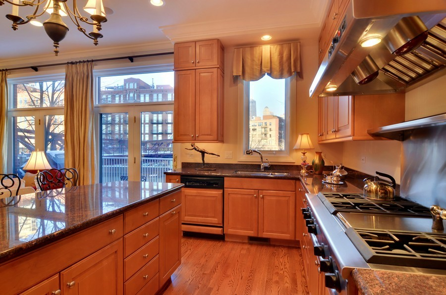 Real Estate Photography - 493 N Canal, Chicago, IL, 60654 - Kitchen