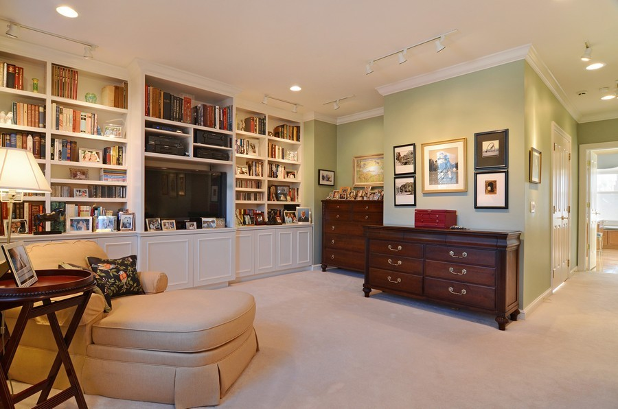 Real Estate Photography - 493 N Canal, Chicago, IL, 60654 - Master Bedroom
