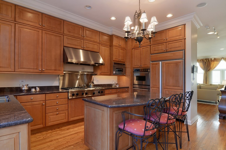 Real Estate Photography - 493 N Canal, Chicago, IL, 60654 - Kitchen / Breakfast Room