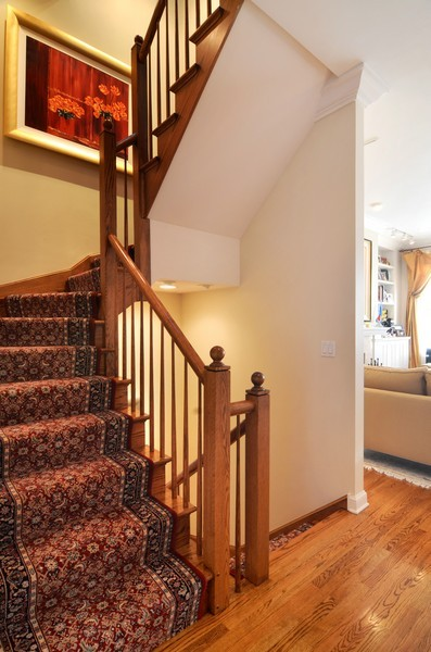 Real Estate Photography - 493 N Canal, Chicago, IL, 60654 - Staircase