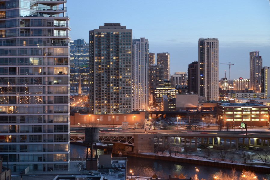 Real Estate Photography - 500 W Superior, Apt 1203, Chicago, IL, 60654 - View