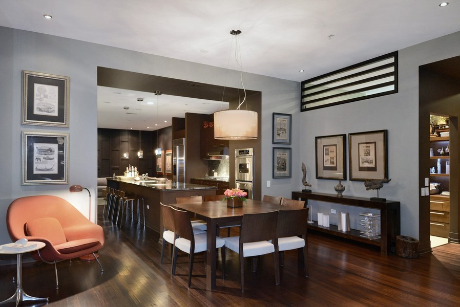 Real Estate Photography - 500 W Superior, Apt 1203, Chicago, IL, 60654 - Dining Room