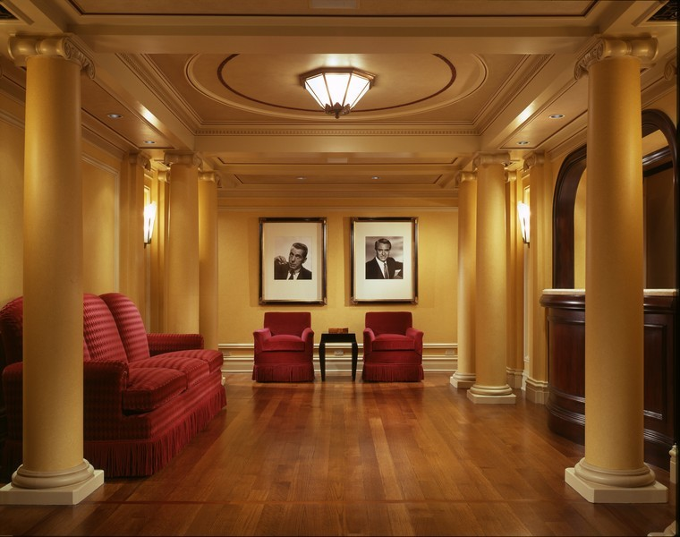 Real Estate Photography - 1955 N Burling, Chicago, IL, 60614 - Private Theatre Lobby