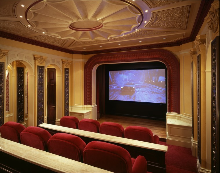 Real Estate Photography - 1955 N Burling, Chicago, IL, 60614 - Private Theatre