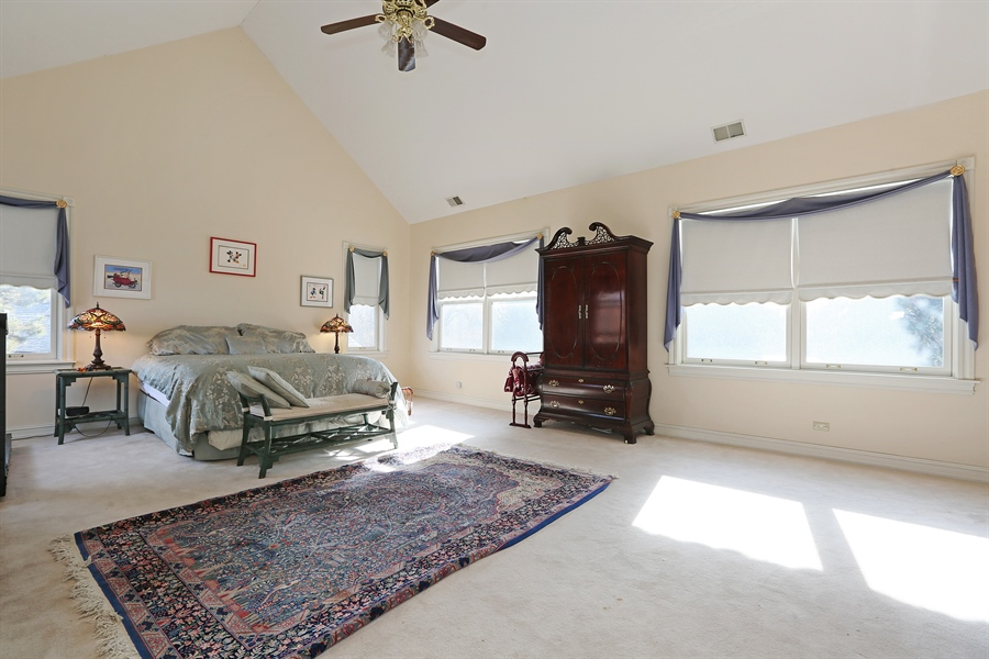 Real Estate Photography - 5324 Turvey Court, Downers Grove, IL, 60515 - Master Bedroom