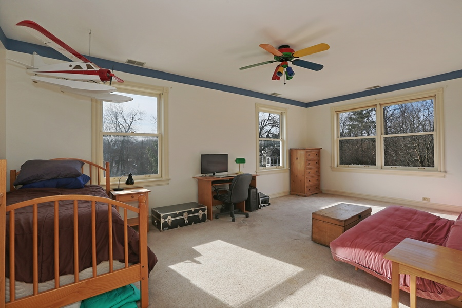 Real Estate Photography - 5324 Turvey Court, Downers Grove, IL, 60515 - 4th Bedroom
