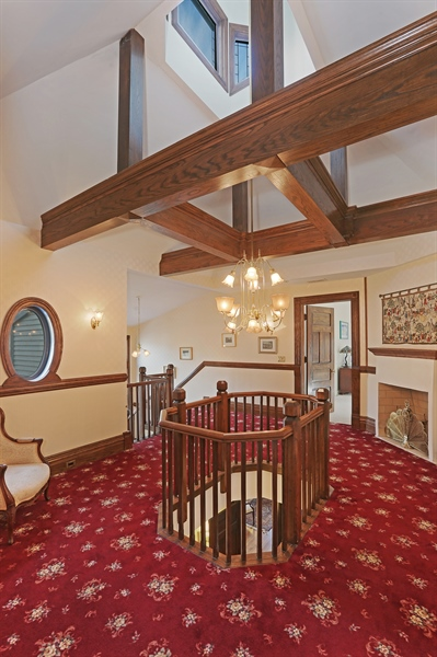 Real Estate Photography - 5324 Turvey Court, Downers Grove, IL, 60515 - 2nd Floor Corridor