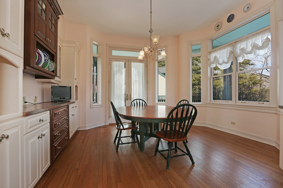 Real Estate Photography - 5324 Turvey Court, Downers Grove, IL, 60515 - Breakfast Area