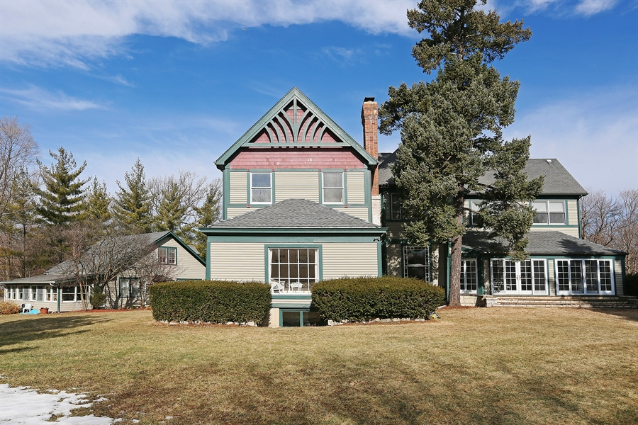 Real Estate Photography - 5324 Turvey Court, Downers Grove, IL, 60515 - Rear View