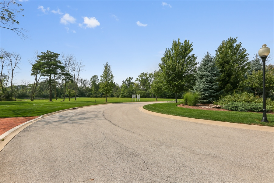 Real Estate Photography - 10 Deerpath, Oak Brook, IL, 60523 - View to Lot 3