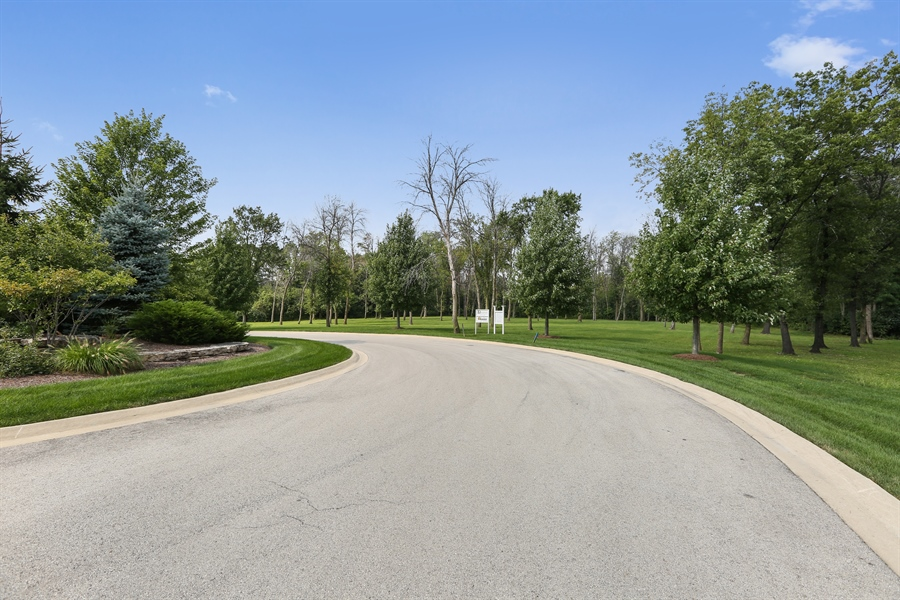 Real Estate Photography - 10 Deerpath, Oak Brook, IL, 60523 - View to Lot 2