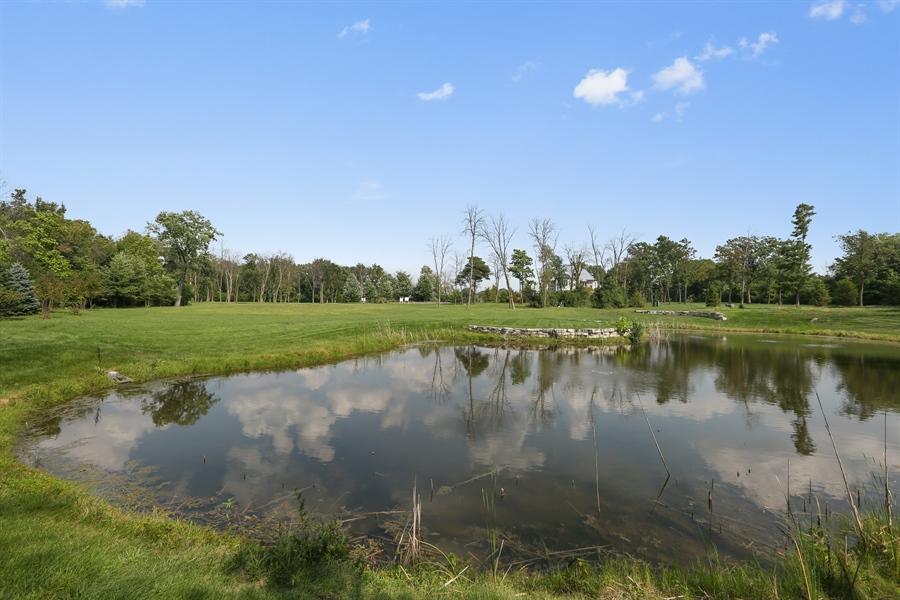 Real Estate Photography - 10 Deerpath, Oak Brook, IL, 60523 - Pond