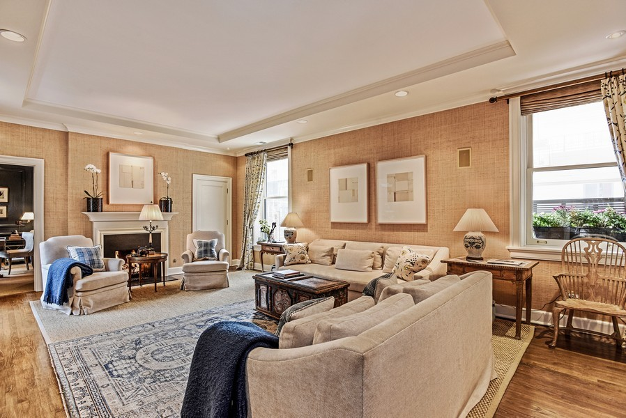 Real Estate Photography - 1340 N State St, #3S, Chicago, IL, 60610 - Family Room