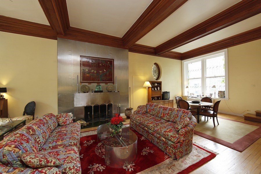 Real Estate Photography - 1508 N State Pkwy, Chicago, IL, 60610 - Living Rm/Family Rm