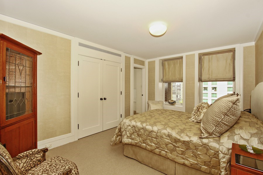 Real Estate Photography - 189 E Lake Shore Dr, Unit 10, Chicago, IL, 60611 - Third Bedroom