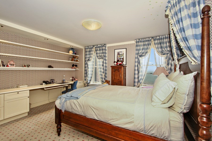 Real Estate Photography - 189 E Lake Shore Dr, Unit 10, Chicago, IL, 60611 - Fourth Bedroom