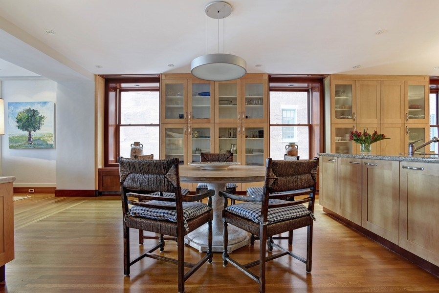 Real Estate Photography - 189 E Lake Shore Dr, Unit 10, Chicago, IL, 60611 - Breakfast Area