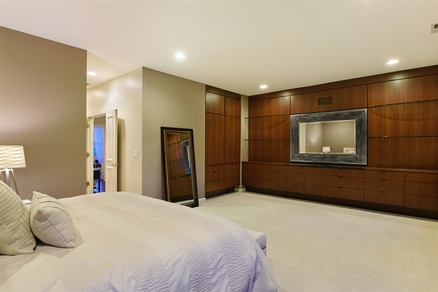 Real Estate Photography - 409 N. Canal, Chicago, IL, 60654 - Master Bedroom