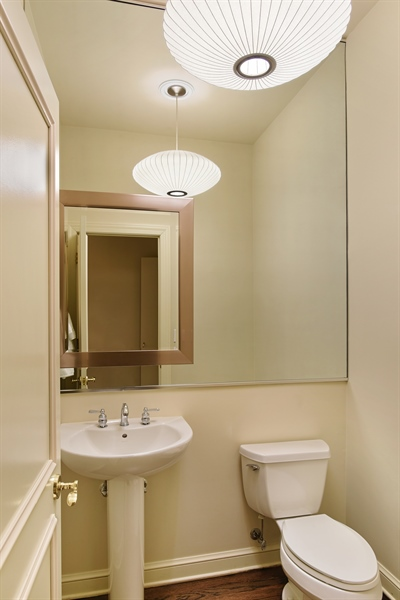 Real Estate Photography - 409 N. Canal, Chicago, IL, 60654 - Half Bath