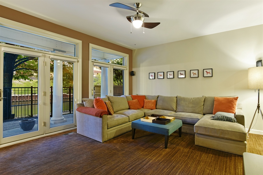 Real Estate Photography - 409 N. Canal, Chicago, IL, 60654 - Patio
