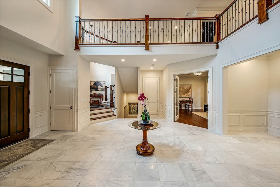 Real Estate Photography - 8545 Kearney Road, Downers Grove, IL, 60516 - Foyer