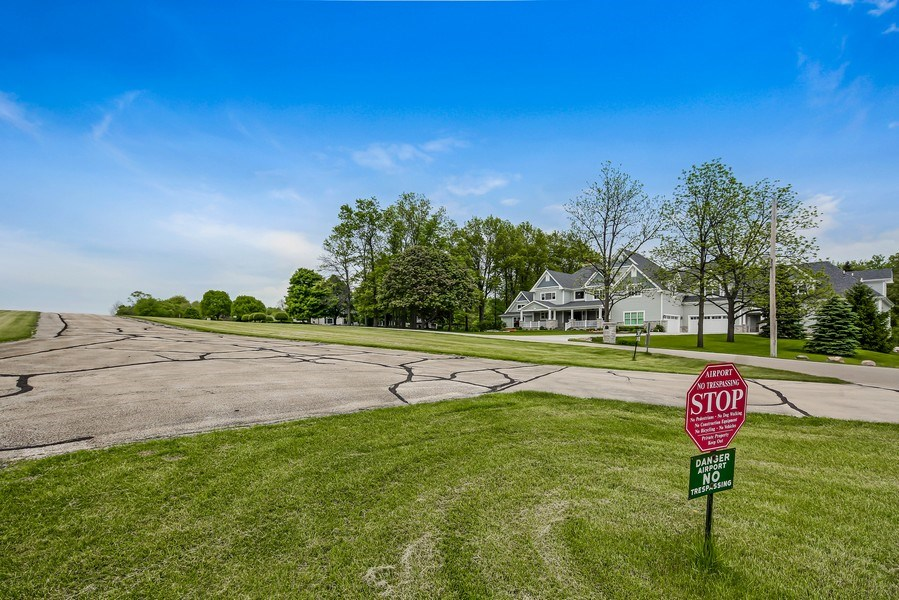 Real Estate Photography - 8545 Kearney Road, Downers Grove, IL, 60516 - Runway & Front View of Home