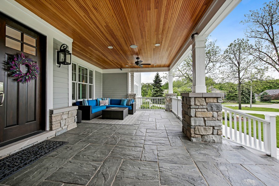 Real Estate Photography - 8545 Kearney Road, Downers Grove, IL, 60516 - Front Porch