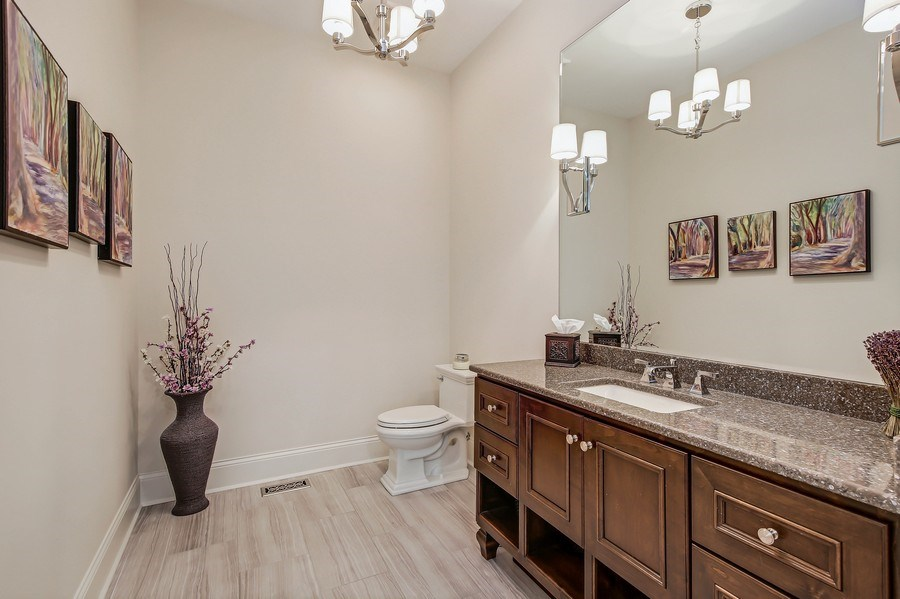 Real Estate Photography - 8545 Kearney Road, Downers Grove, IL, 60516 - Bathroom