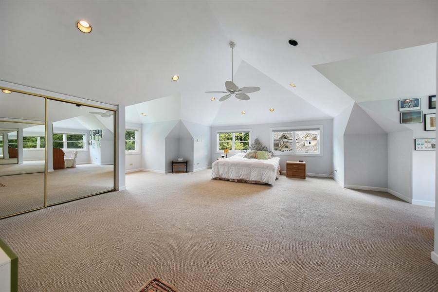 Real Estate Photography - 47 Brookside, Lemont, IL, 60439 - Master Bedroom